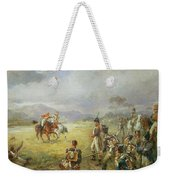 The Duel  Fair Play Weekender Tote Bag by Robert Alexander Hillingford