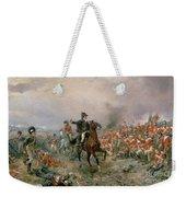 The Duke Of Wellington At Waterloo Weekender Tote Bag