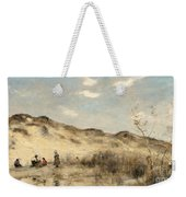 The Dunes Of Dunkirk Weekender Tote Bag by Jean Baptiste Camille Corot