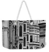 The Duomo Black And White Weekender Tote Bag