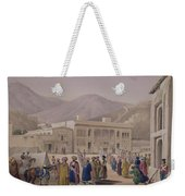 The Durbar-khaneh Of Shah Weekender Tote Bag