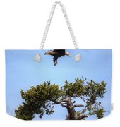 The Eagle Is Landing Weekender Tote Bag