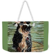 The Early Berner Catcheth Phone Weekender Tote Bag