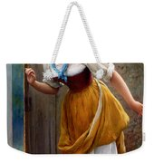 The Eavesdropper Weekender Tote Bag