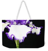 The Edge Of Purple Weekender Tote Bag