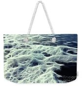 The Edge Of The Wave Weekender Tote Bag