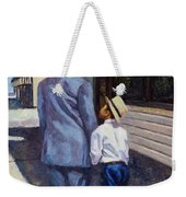 The Education Of A King Weekender Tote Bag by Colin Bootman
