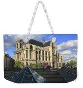 The Eglise De Saint-eustache Paris France  Weekender Tote Bag