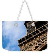 The Eiffel Tower From Below Weekender Tote Bag by Nila Newsom