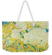The Elderflower Tree Oil On Canvas Weekender Tote Bag
