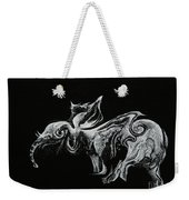 The Elephant  Weekender Tote Bag