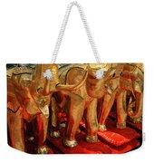 The Elephant Shrine Weekender Tote Bag