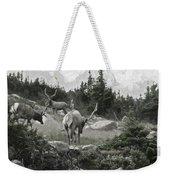 The Elk Painterly 2 Weekender Tote Bag