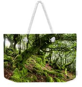 The Elven Forest No2 Wide Weekender Tote Bag