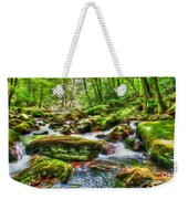 The Emerald Forest 15 Weekender Tote Bag