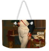 The Emperor Napoleon In His Study 1812 Weekender Tote Bag
