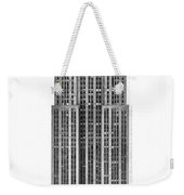 The Empire State Building Weekender Tote Bag by Luciano Mortula
