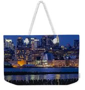 The Empire State Building Pastels Esb Weekender Tote Bag