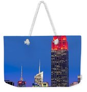 The Empire State Building Weekender Tote Bag