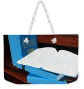 The Encyclopedia Of Newfoundland And Labrador - Joeys Books Weekender Tote Bag