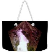 The End Of Silver Falls  Weekender Tote Bag