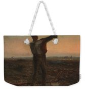 The End Of The Day Effect Of Evening  Weekender Tote Bag