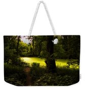 The End Of The Path Weekender Tote Bag