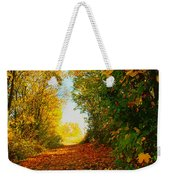 The End Of The Road. Weekender Tote Bag