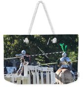 The End To The Jousting Contest  Weekender Tote Bag