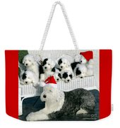 The Entire Family Weekender Tote Bag