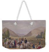 The Entrance Into Caubul Weekender Tote Bag