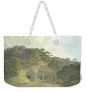 The Entrance To The Elephanta Cave Weekender Tote Bag