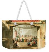 The Entrance To The Tower Of The Winds Weekender Tote Bag