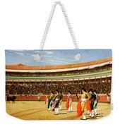 The Entry Of The Bull Weekender Tote Bag