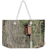 Birdhouse Environment Of Hamilton Marsh  Weekender Tote Bag