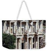 The Ephesus Library In Turkey Weekender Tote Bag