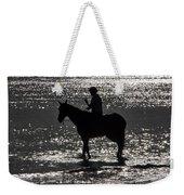 The Equestrian-silhouette Weekender Tote Bag
