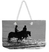 The Equestrians-silhouette V2 Weekender Tote Bag