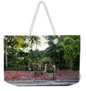 The Ernest Hemingway House - Key West Weekender Tote Bag