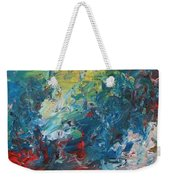 The Eruption Of Subduction Weekender Tote Bag