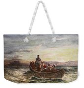 The Escape Of Mary Queen Of Scots Weekender Tote Bag