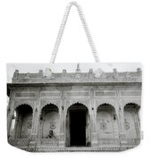 The Ethereal Temple Weekender Tote Bag