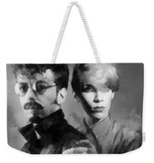 The Eurythmics Weekender Tote Bag