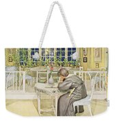 The Evening Before The Journey Weekender Tote Bag