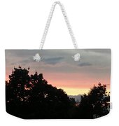 The Evening Sky Weekender Tote Bag