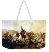 The Event At The Village Telishe Weekender Tote Bag by Victor Mazurovsky
