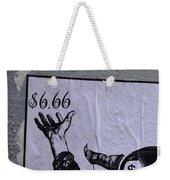 The Evil Means  Weekender Tote Bag