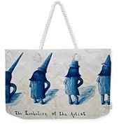 The Evolution Of The Artist Weekender Tote Bag