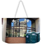 The Executive Office Building Reflection  Weekender Tote Bag