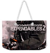 The Expendables 2 Schwarzenegger Weekender Tote Bag